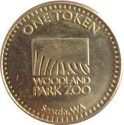 1 Token - Woodland Park Zoo Historic Carousel (Seattle, Washington) – obverse