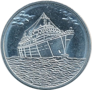 25 Cents - Holland-America Cruise Line – obverse