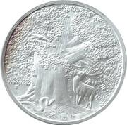1 oz Silver (Nordic Creatures - Great Eagle) -  obverse
