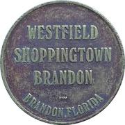 Admit 1 - Westfield Shoppingtown Carousel (Brandon, Florida) – obverse