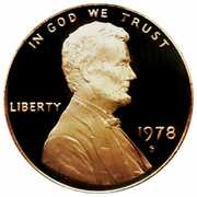 """1 Cent """"Lincoln Memorial Cent"""" – obverse"""