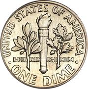 "1 Dime ""Roosevelt Silver Dime"" -  reverse"