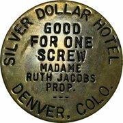 Token - Silver Dollar Hotel (Denver) -  obverse