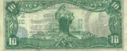 10 Dollars (National Currency) – reverse