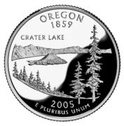 "¼ Dollar ""Washington Quarter"" (Oregon - Silver Proof) -  reverse"