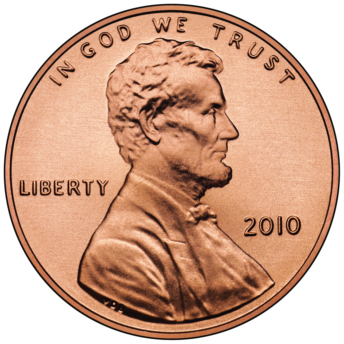 1 cent lincoln cent shield reverse