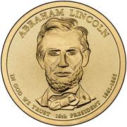 1 Dollar (Abraham Lincoln) -  obverse