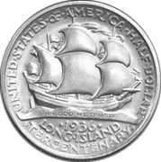 ½ Dollar (Long Island) -  reverse