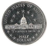 ½ Dollar (Congress) -  reverse