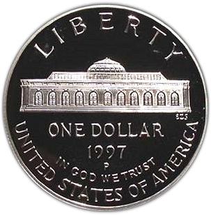 PCGS PR69 DCAM 1997-P US Botanic Garden Commemorative Proof Silver Dollar