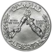 1 Dollar (Seoul Olympiad) -  obverse