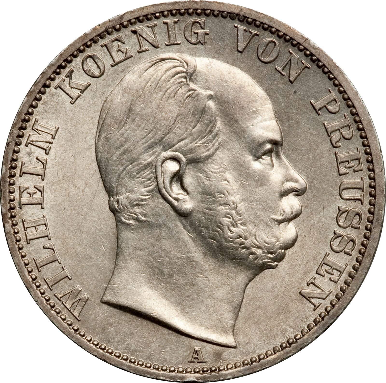 1 Vereinsthaler Wilhelm I German States Numista
