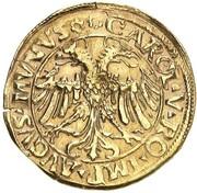 1 Goldgulden - Anton I. (Fugger) – reverse