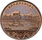 Medal - Industrial exhibition in Regensburg – obverse