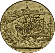 Medal - Victory against the Danes at the Battle at Eckernförde (Type 1) – obverse
