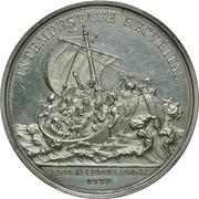 Medal - Merit maritime insurance company (Emdener Assecuranzcompanie) – reverse