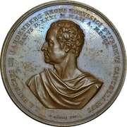 Medal - Karl August von Hardenberg (Prussia) – obverse