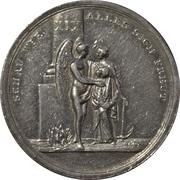 Calendar medal - XIX century – obverse