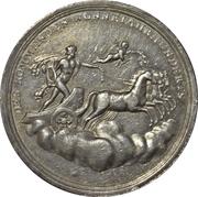 Calendar medal - XIX century – reverse