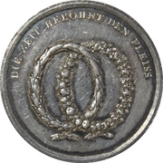 Medal - Encouragement of diligence (Berlin) – reverse