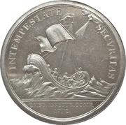 Medal - Of merit maritime insurance company Emdener Assecuranzcompanie – reverse
