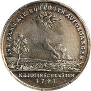 Medal - War in Silesia – reverse