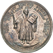 Medal - 300 years celebration of the reformation (Brandenburg-Prussia) – reverse