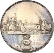 Medal - The Twenty-four Commission (Emden) – reverse