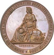 Medal - Industrial exhibition in Berlin – obverse