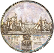 Medal - 25th anniversary of the Twenty-four Commission (Emden) – obverse