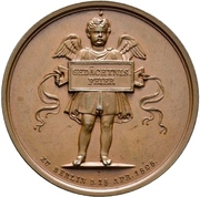 Medal - Albrecht Dürer (Berlin; 300 years of death) – reverse