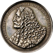 Medal - Erection of the Albrecht Dürer memorial in Nürnberg – obverse