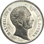 Medal - Maximilian II (Ministry von der Pfordten) – obverse