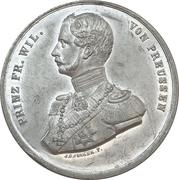 Medal - Wedding of Friedrich Wilhelm and Queen Victoria – obverse