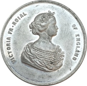 Medal - Wedding of Friedrich Wilhelm and Queen Victoria – reverse