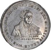Medal - Bicentennial of Reformation (Hamburg) – obverse