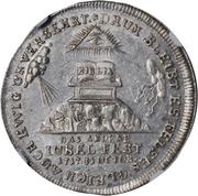 Medal - Bicentennial of Reformation (Hamburg) – reverse