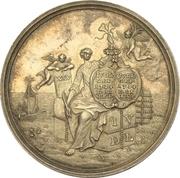 Medal - Silver wedding of Johann von der Leyen with Katharina Goyen (Krefeld) – obverse