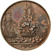 Medal - Battle of Eckernförde (Bronze issue) – obverse