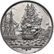 Medal - Battle of Eckernförde (Zinc issue) – obverse
