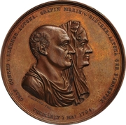 Medal - Conrad von Blücher-Altona (Golden wedding) – obverse