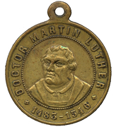 Medal - Martin Luther 400th Anniversary – obverse