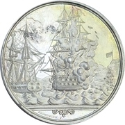 Medal - Battle of Eckernförde (Silver issue) – obverse