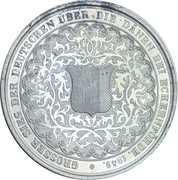 Medal - Battle of Eckernförde (Silver issue) – reverse