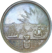 Medal - The Twenty-four Commission (Emden) – reverse