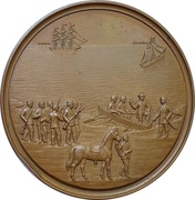 Medal - Capture of the danish captain Baron Dirking-Holmfeld (Schleswig-Holstein) – obverse