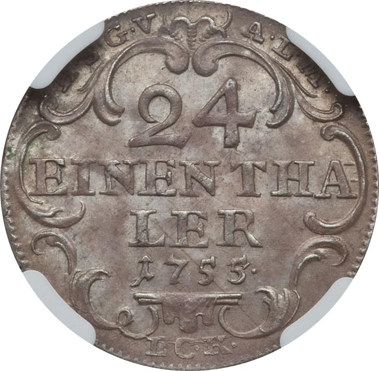 24 thaler friedrich iii german states numista