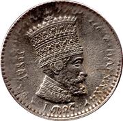 10 Matonas - Hailé Selassié I – obverse