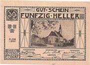 50 Heller (Etsdorf) – obverse