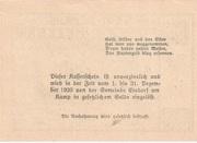 50 Heller (Etsdorf) – reverse